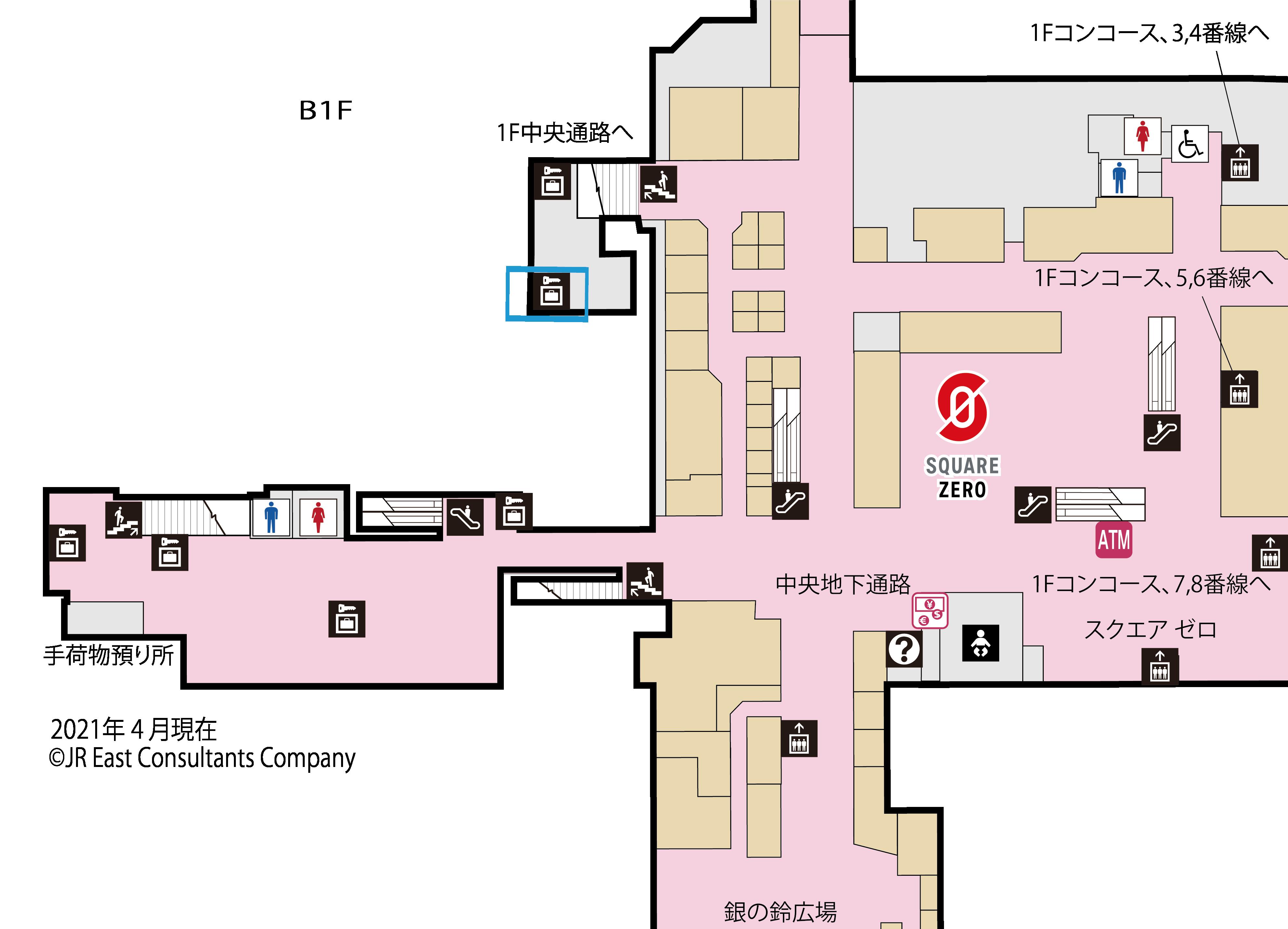 地下1階階段踊り場